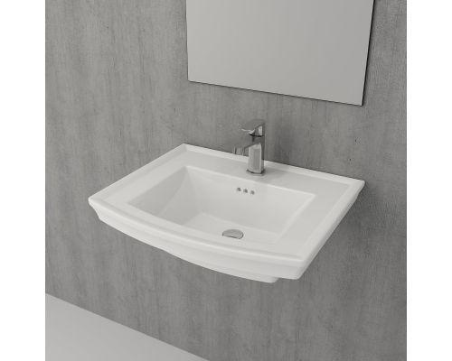 Раковина Bocchi Lavita 60x50, белая