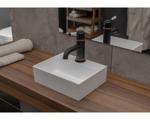 Раковина Bocchi 1470-001-0126, белая 30x24 см