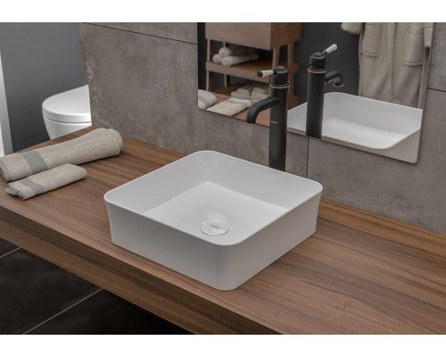 Раковина Bocchi 1477-001-0125, белая 39x39 см