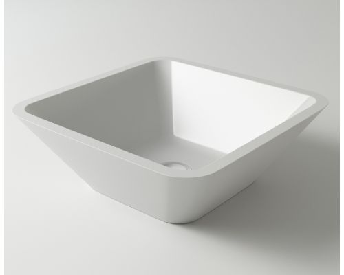 Раковина Holbi Saturn, 43x43, из Solid Surface