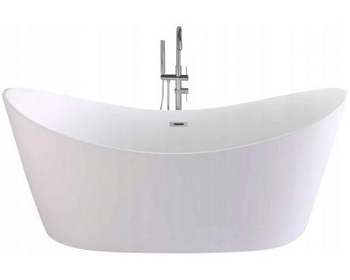 Ванна акриловая отдельностоящая REA FERRANO 160*80