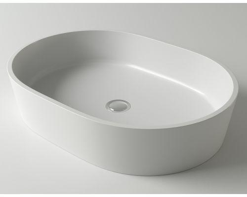 Раковина Holbi Ariel, 55x40, из Solid Surface