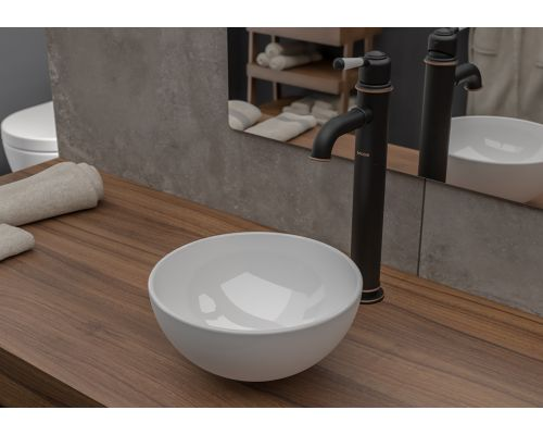 Раковина Bocchi 1471-001-0125, белая 26x26 см