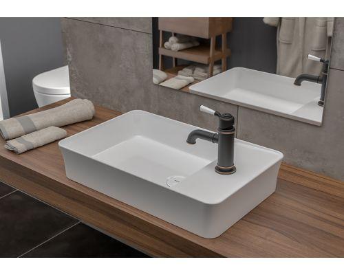 Раковина Bocchi 1479-001-0126, белая 60x38 см