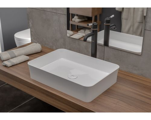 Раковина Bocchi 1476-001-0125, белая 55x36 см