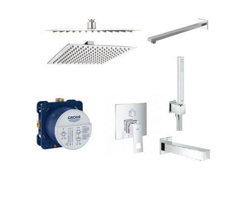 Душевая система для ванны Grohe Eurocube 24094000RI