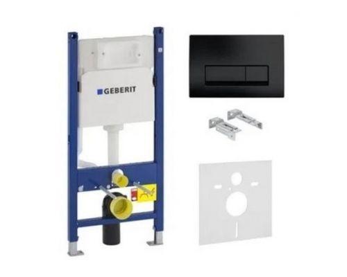 Инсталляционная система для унитаза Geberit Duofix 458.126.05.DW комплект 4 в 1