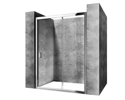 Душевая дверь REA SLIDE PRO 120 см, раздвижная