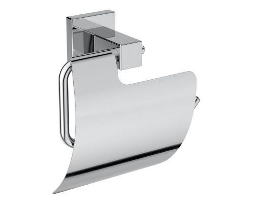 Ideal Standard IOM Square Держатель для туалетной бумаги с крышкой, с крепежом