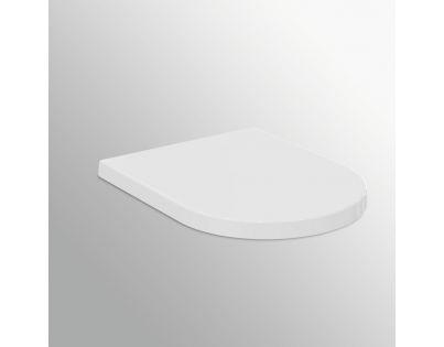 Cиденье Ideal Standard Blend Curve T376001 с микролифтом, петли хром
