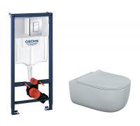 Комплект: инсталляция grohe 38772001 + унитаз Bocchi V-Tondo 1416-001-0129