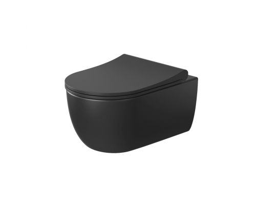 Унитаз подвесной Bocchi V-Tondo 1416-004-0129 черный матовый