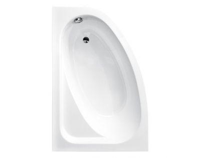 Акриловая ванна Besco Finezja Nowa RL 155x95 (угловая)