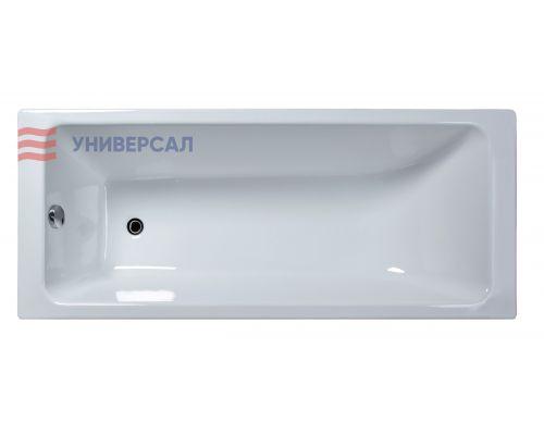 Чугунная ванна Универсал Оптима 170*70 (1 сорт, с ножками)