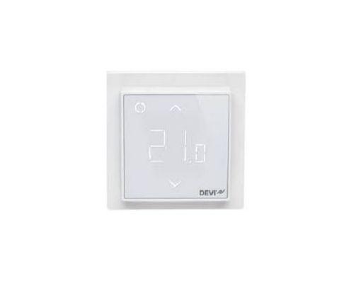 Терморегулятор DEVIreg™ Smart с Wi-Fi (полярный белый)