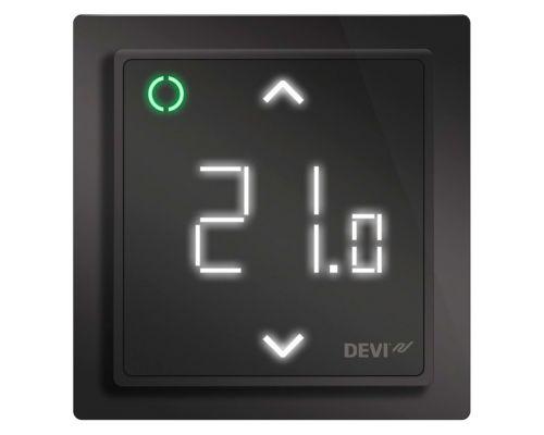 Терморегулятор DEVIreg™ Smart с Wi-Fi (чёрный)