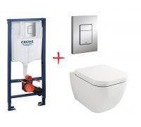 Комплект: инсталляция grohe 38772001 + унитаз Lavinia Boho One Compacto 3302003C
