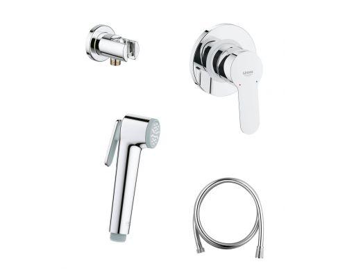 Гигиенический душ Grohe BauEdge 124898 хром