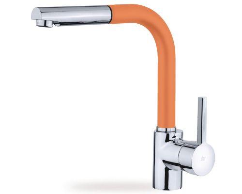 Смеситель TEKA ARK 938 23938120FA оранжевый, для кухонной мойки