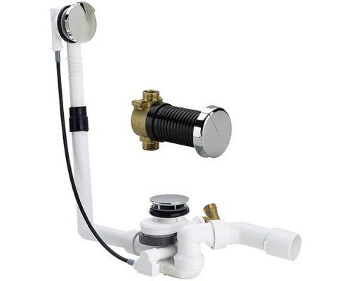 Сифон для ванны Viega Multiplex Trio F 675486 с донным наполнением, накладка M5
