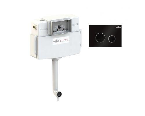 Комплект для подвесного унитаза 2 в 1 Lavinia Boho RelFix 77030032