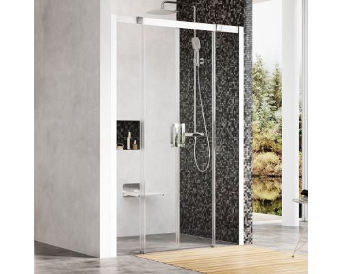 Душевая двери Ravak Matrix MSD4-160 белый+транспарент