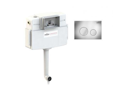Комплект для подвесного унитаза 2 в 1 Lavinia Boho RelFix 77030030