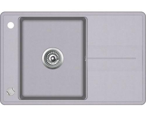 Кухонная мойка AquaSanita BELLA SQB101 (аллюметаллик)