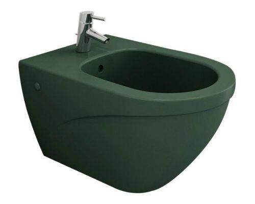 Биде подвесное Bocchi Taormina Arch 1121-027-0120 зеленое