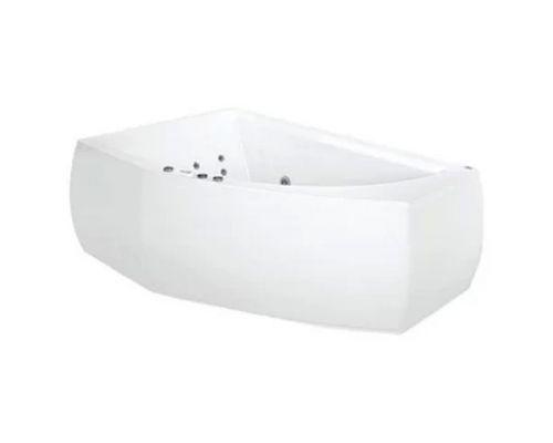 Аэро- и гидромассажная ванна Poolspa Aquamarina 175x100 R Titanium