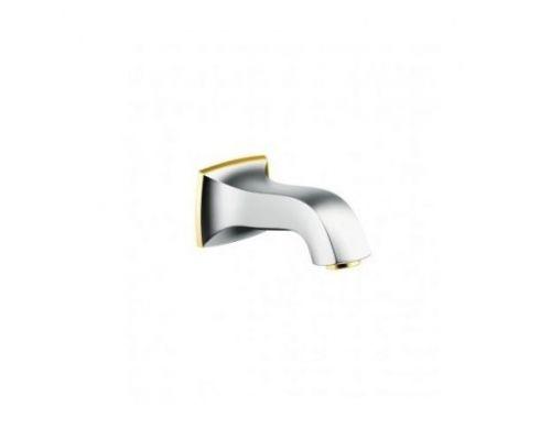 Излив на ванну Hansgrohe Metropol, хром/золото