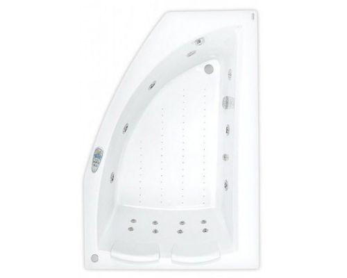 Аэро- и гидромассажная ванна Poolspa Aquamarina 175x120 R Titanium