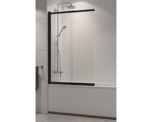 Шторка на ванну New Trendy  SENSI BLACK 100x150