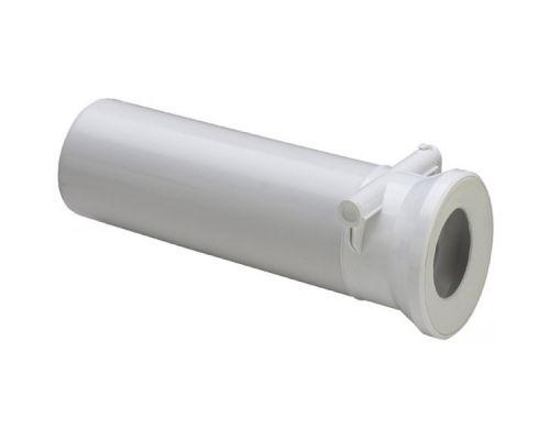 Отвод Viega 134969, DN100 прямой 400 мм, белый