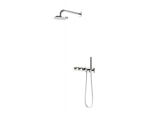 Внешняя часть смесителя с rain shower Oras Signa, 2272