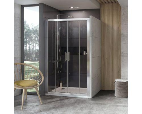Душевая дверь Ravak 10DP4-130 блестящий + транспарент
