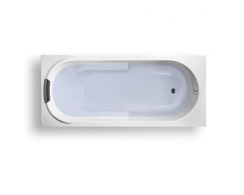Акриловая ванна Lavinia Boho Bristol 150*75 с мягким силиконовым подголовником