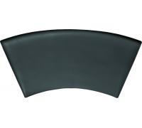 Гелевый подголовник (черный) для ванны Poolspa Mario