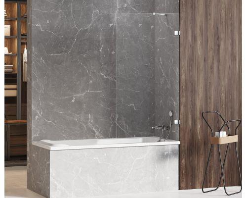 Шторка на ванну New Trendy AVEXA 100x150 (var 1)