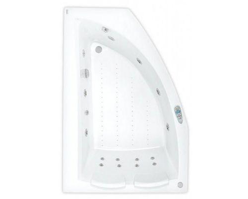Аэро- и гидромассажная ванна Poolspa Aquamarina 175x120 L Titanium