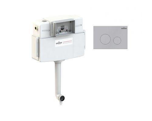 Комплект для подвесного унитаза 2 в 1 Lavinia Boho RelFix 77030031