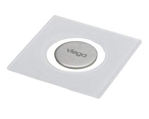 Дизайн-решетка Viega 617127 RS5, светло-серая, 10x10 см