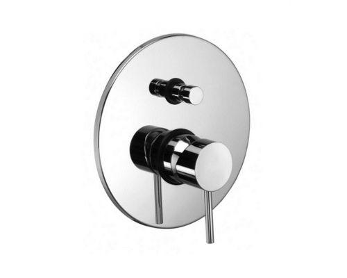 Встраиваемый смеситель для ванны с душем Paffoni Light LIG015CR
