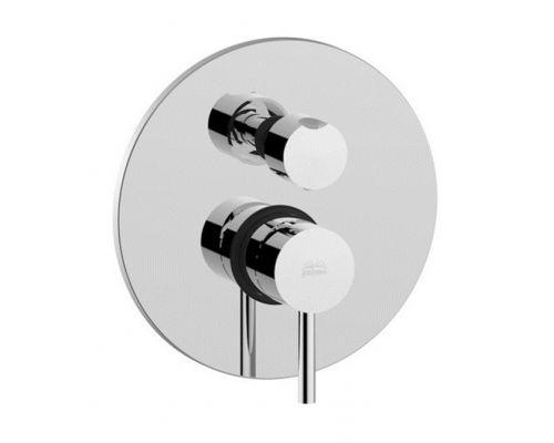 Встраиваемый смеситель для ванны с душем Paffoni Light LIG019CR (3 потребителя)