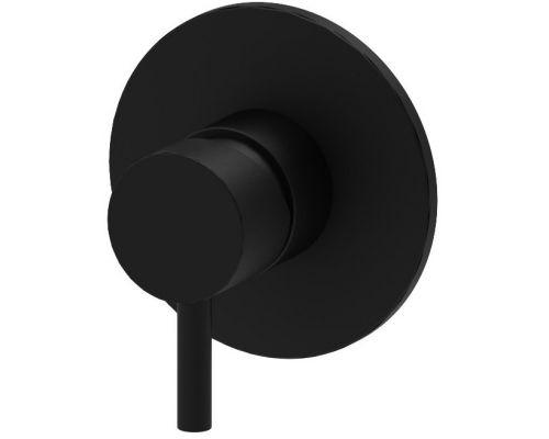 Встраиваемый смеситель для душа (черный матовый) Paffoni Light LIG011NO