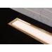 Душевой лоток Pestan Confluo Premium White Glass Line 450 Gold , 13100089