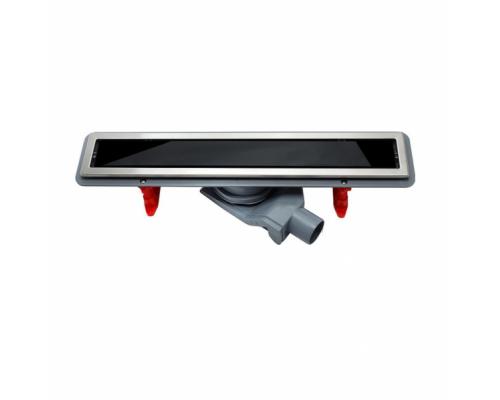 Душевой лоток Pestan Confluo Premium Black Glass Line 450, 13000291