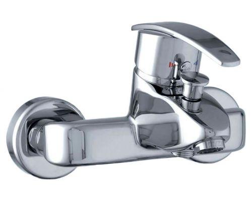 Смеситель E.C.A. Mix cubic 402102166 для ванны с душем