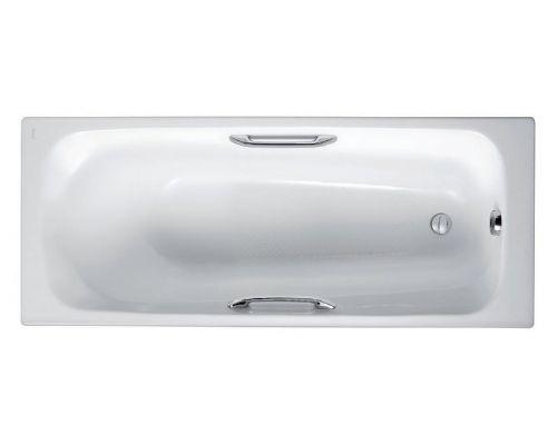 Чугунная ванна Jacob Delafon Melanie 160x70 с ручками, E2935