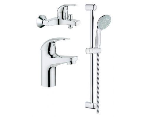 Комплект для ванной Grohe BauCurve 122251 3 в 1